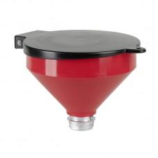 """Воронка полиэтилен с крышкой  Ø 250 мм, емкость 3,2 л, резьба G 2""""a"""