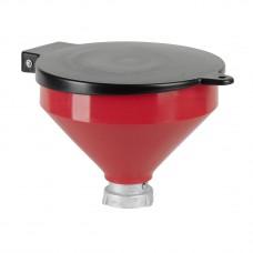 Воронка из полиэтилена для отработанного масла Ø 250 мм., емкость 3,2 л, Ø 60 мм внутренний