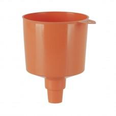 Воронка из полиэтилена для банок с маслом Ø 120 мм, емкость 1 л