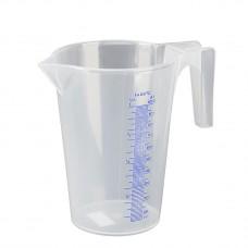 Измерительная емкость из полипропилена 1 л, прозрачный