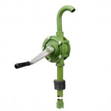 Роторный бочковой насос. Труба 900 mm, 19 л/мин, Полипропилен/нерж. Сталь