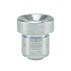 Пресс-масленка конусная D1, наружная прямая Ø 6 mm, VZ, ESN