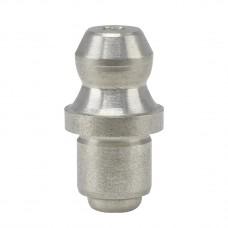 Пресс-масленка H1A, Ø 8 mm-VA--круглая, заколачиваемая, н/ж сталь