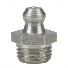 Пресс-масленка H1, прямая M 10 x 1, VA, SK, SW 11 mm, нержавеющая сталь