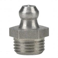 Пресс-масленка H1, прямая 1/8'' NPT, VA, SK, SW 11 mm, нержавеющая сталь