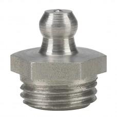 Пресс-масленка H1, прямая G 1/4'', VA, SK, SW 14 mm, нержавеющая сталь