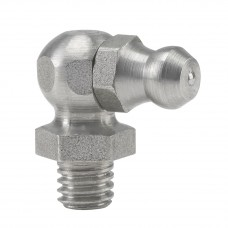 Пресс-масленка H3, 90° M 6 x 1, VA, SK, SW 9 mm, нержавеющая сталь