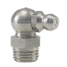 Пресс-масленка H3, 90° M 10 x 1, VA, SK, SW 11 mm, нержавеющая сталь