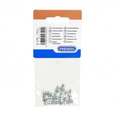 Пресс-масленка H1, прямая, в упаковке для магазинов самообслуживания 10 штук M 6 x 1, VZ, SK, SW 7