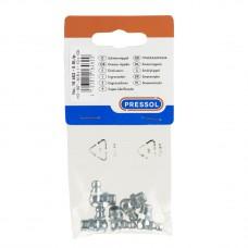 Пресс-масленка H3, 90°, в упаковке для магазинов самообслуживания 5 штук M 8 x 1, VZ, SK, SW 9