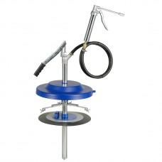 Нагнетатель смазки, ручной, с 17600 для емкостей 25 кг, Ø 300 - 350 mm