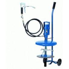 Система раздачи смазки, передвижная для емкостей 10 кг, Ø 210-240 mm