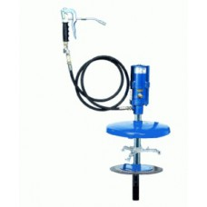 Система раздачи смазки, стационарная для емкостей 25 кг, Ø 310 - 335 mm, шланг 2м