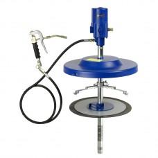 Система раздачи смазки, стационарная для емкостей 50 кг, Ø 335-385 mm, шланг 4м
