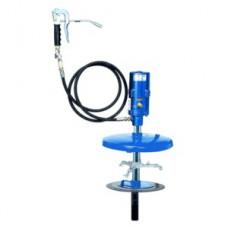 Система раздачи смазки, стационарная для емкостей 50 кг, Ø 335-385 mm, шланг 6м