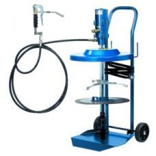 Система раздачи смазки, передвижная для емкостей 50 кг, Ø 335-385 mm, 6 мм