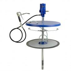 Система раздачи смазки, стационарная для емкостей 200 кг для , Ø 540 - 590мм, шланг 4м