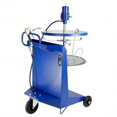 Система раздачи смазки, передвижная для емкостей 200 кг для , Ø 540-590мм, шланг 4м