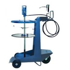 Система раздачи смазки, передвижная для емкостей 200 кг для , Ø 540-590мм, шланг 6м