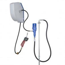 Система раздачи масла, стационарная насос 860/1600, настенный комплект с закрытой катушкой 10м