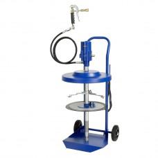 Система раздачи смазки, передвижная для емкостей 50 кг,шланг 4м,  Ø 335-385 mm