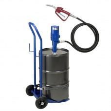 Система раздачи масла, передвижная, труба 570, 60 л емкость