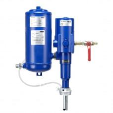 Пневматический  насос 3:1, труба 860, 200/220 л емкость, с сепаратором