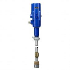 Пневматический  насос 5:1 с плавающим вентилем,, труба 860, 200/220 л емкость