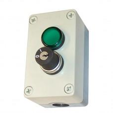 Переключатель с индикаторной лампой