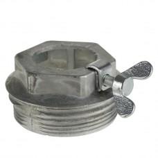 Переходник на бочку для трубы Ø 35,5 мм