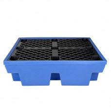Подставка-маслосборник  Для четырех 200 л бочек (1330 x 1290 x 480 mm)