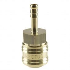 Быстроразъемное соединение Rectus, Typ 26, разъем 6 мм нар.