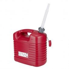 Канистра для бензина,  полиэтилен, 20 л, со сливом