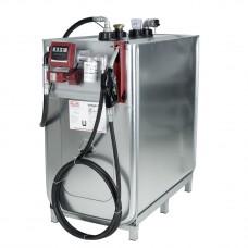 Компактная установка, 1000л, насос для масла 220 В, шланг 6 м, фильтр