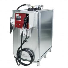 Компактная установка, 1500л, насос для масла 220 В, шланг 6 м, фильр