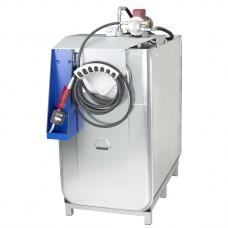 Компактная установка,  1000 л, насос для масла 220 В, шланг 8м