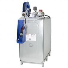 Компактная установка,  1000 л, насос для масла 220 В, катушка 10м, коммерческая