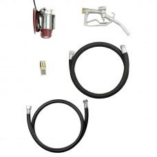 MOBIFIxx комплект для дизтоплива, 35л/мин, 12В, клеммы, 4м шланг