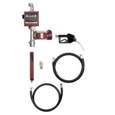 Насос для биодизеля, 60л/мин, комплект, 4 м шланг, автомат, заборный шланг 1,6 м, счетчик