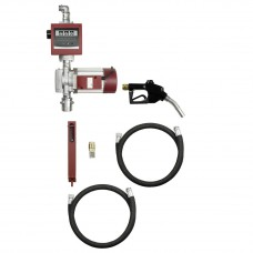 Насос для дизтоплива, 100л/мин, комплект, 4 м шланг, автомат, заборный шланг 1,6 м, счетчик