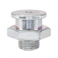 Плоская пресс-масленка M1, KØ 16 mm M 10 x 1, оцинкована, под ключ 17